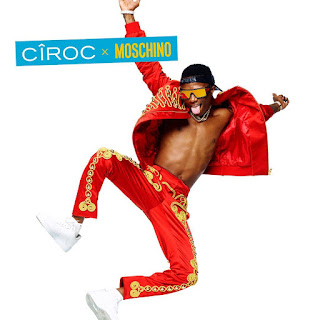 Wizkid in colourful campaign for #Ciroc and #Moschino