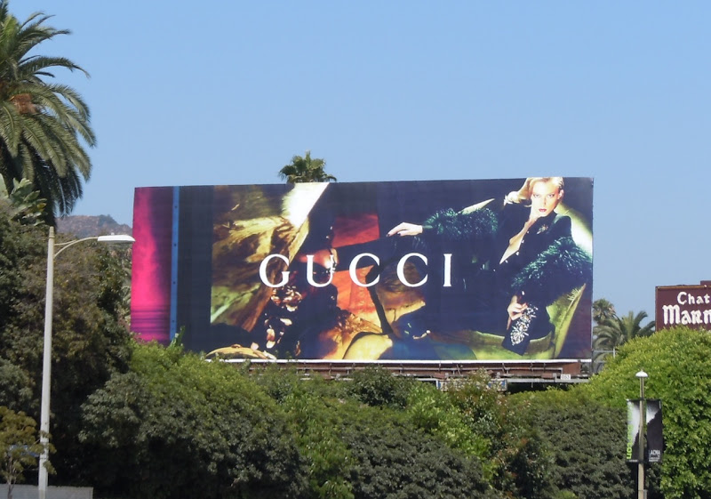 Gucci Fall 2011 fashion billboard