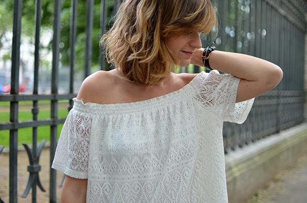 Top épaules dénudées H&M