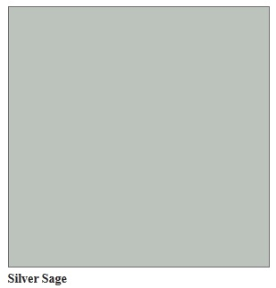 Silver Sage Paint Color Building 221: Choosing Colors