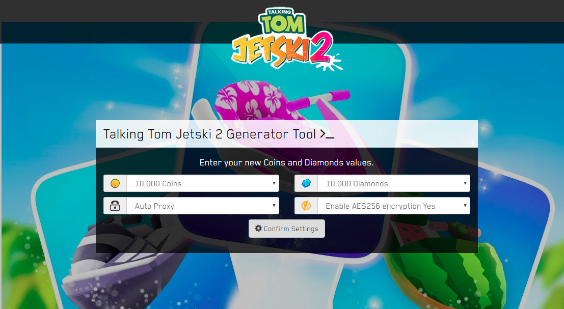 Talking Tom Jetski 2 Hack MOD