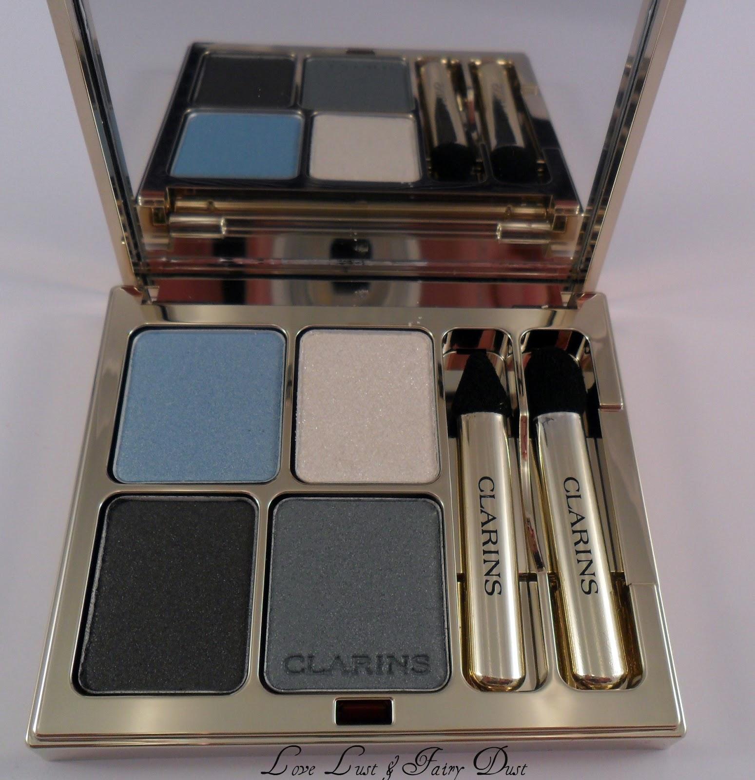 Clarins eye quartet mineral palette