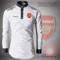 Baju Jas Koko Muslim Pria Collar Arsenal