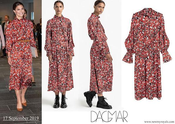 Crown Princess Victoria wore Dagmar Dora Dress