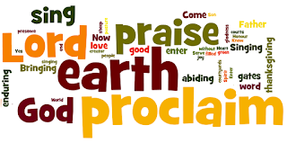 Chorus: All the earth proclaim the Lord; sing your praise to God. 1 Serve you the Lord, Heart filled with gladness. Come into God's presence Singing for joy! 2 Know that the Lord Is our creator. Yes God is our Father; We are his own. 3 We are the sheep Of His green pasture. For we are His people; He is our God. 4 Come to the gates Bringing thanksgiving; O enter the courtyards Singing in praise. 4-alt: Enter His gates Bringing thanksgiving, O enter His courts While singing His praise. 5 Our Lord is good, His love enduring, His word is abiding Now with us all. 5-alt: Our Lord is good, With love enduring; God's word is abiding Now with us all. 6 Honour and praise Be to the Father, The Son, and the Spirit, World without end.
