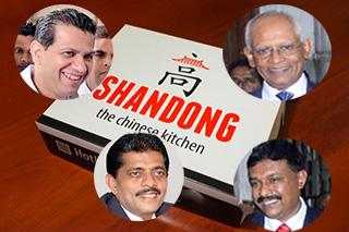 Sarana, Duminda, Anusha, Lalith get set in Ward 3 -- taste Chinese got down from Rajagiriya 'Shandon!'