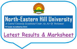 NEHU Results 2021