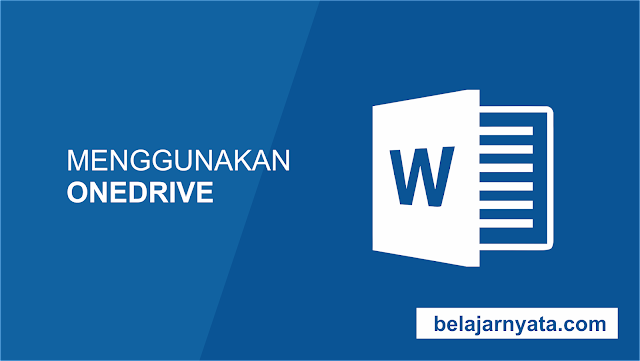Banyak fitur di Office diarahkan untuk menyimpan dan berbagi file secara online. OneDrive adalah ruang penyimpanan online Microsoft yang dapat Anda gunakan untuk menyimpan, mengedit, dan berbagi dokumen dan file lainnya. Anda dapat mengakses OneDrive dari komputer Anda, smartphone, atau salah satu perangkat yang Anda gunakan.  Untuk memulai dengan OneDrive, semua yang perlu Anda lakukan adalah mengatur account Microsoft gratis, jika Anda belum memilikinya. Anda dapat pergi untuk membuat sebuah Account Microsoft.  Setelah Anda memiliki Microsoft account, Anda akan dapat masuk ke Office. Klik masuk di sudut kanan atas jendela Word.