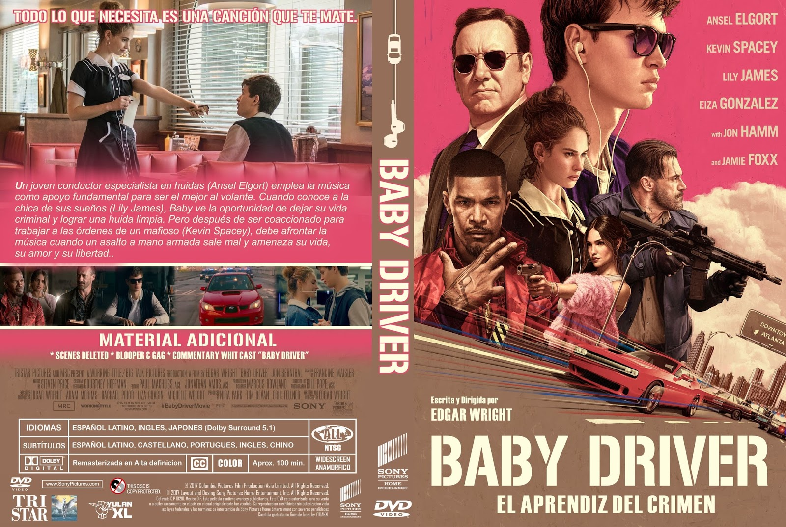 baby driver cover dvd