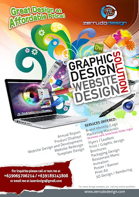 Zerrudo Design Zerrudo Design Promotional Flyer