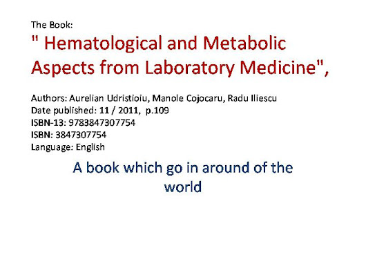 Hematological and Metabolic Aspects from Laboratory Medicine
