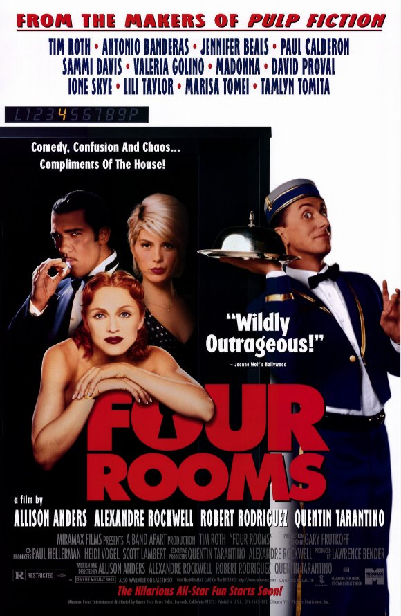 "4 Rooms Movie Review: ""four Rooms"" (1995) 