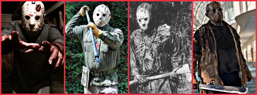 The ultimate jason voorhees costuming guide part 1 an from left to right part 4 jason sdcostumeguy baker part 6 james new blood costumes maxwell part 7 brandon scott murphree versus ruben solutioingenieria Gallery