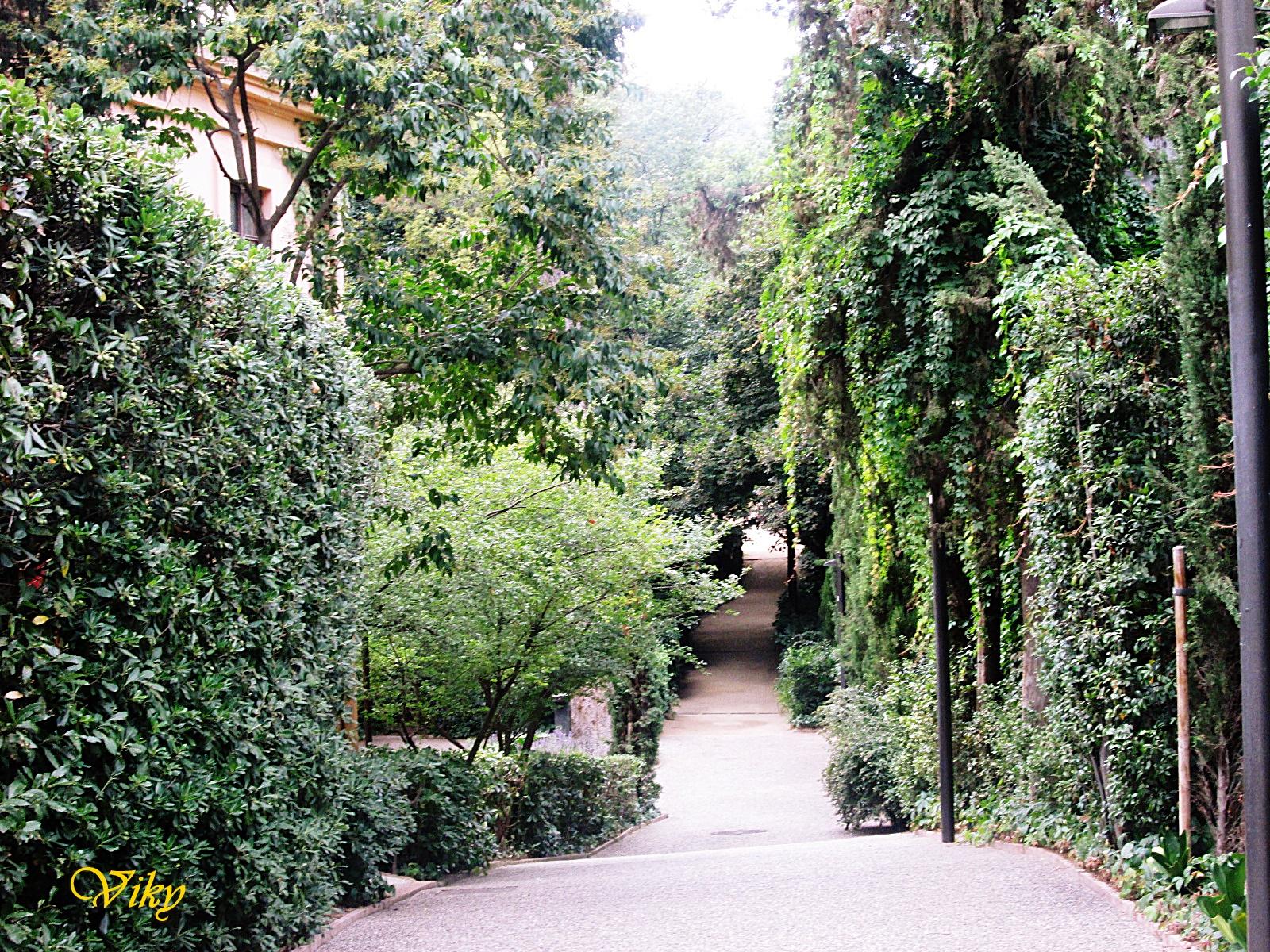 Andatori jardines de la tamarita barcelona - Jardines de barcelona ...