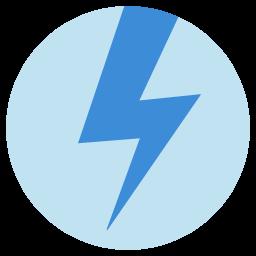 Preview of Thunder bolt Logo, Thunder bolt folder icon