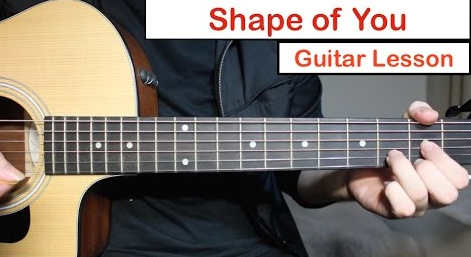 Lirik Dan Chord Gitar Lagu Ed Seeran Shape Of You Chord Lagu