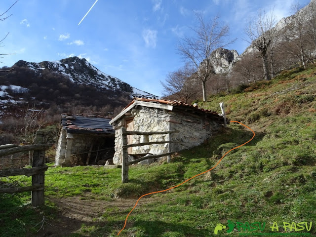 Ruta a Peña Melera y Los Pandos: Majada Gallos, Aller