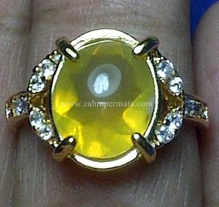 Cincin Batu Fire Opal Wonogiri - ZP 652