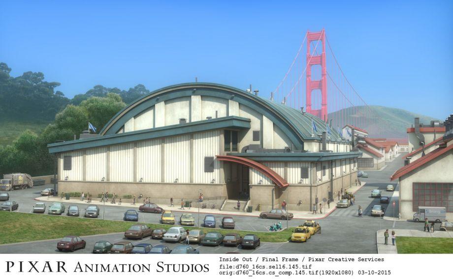 San Francisco Comes Alive In Inside Out Pixar Post