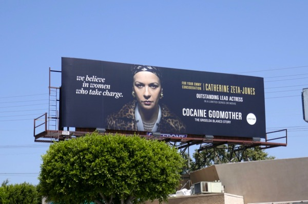 Cocaine Godmother 2018 Emmy FYC billboard