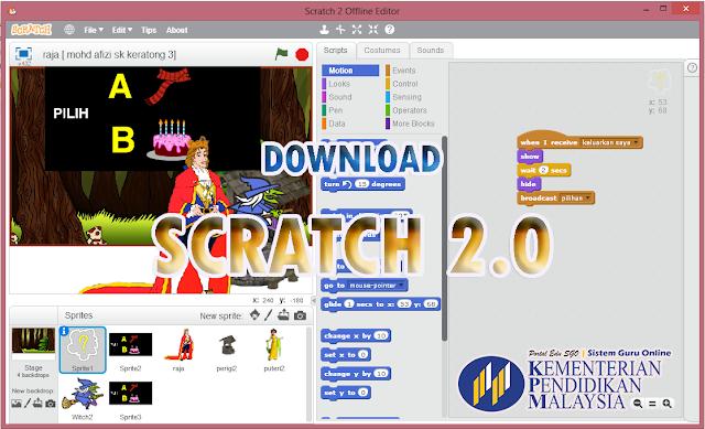 SCRATCH & Modul PLUG Teknologi Maklumat Komunikasi TMK Tahun 6