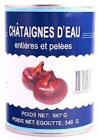 CHÂTAIGNES D'EAU