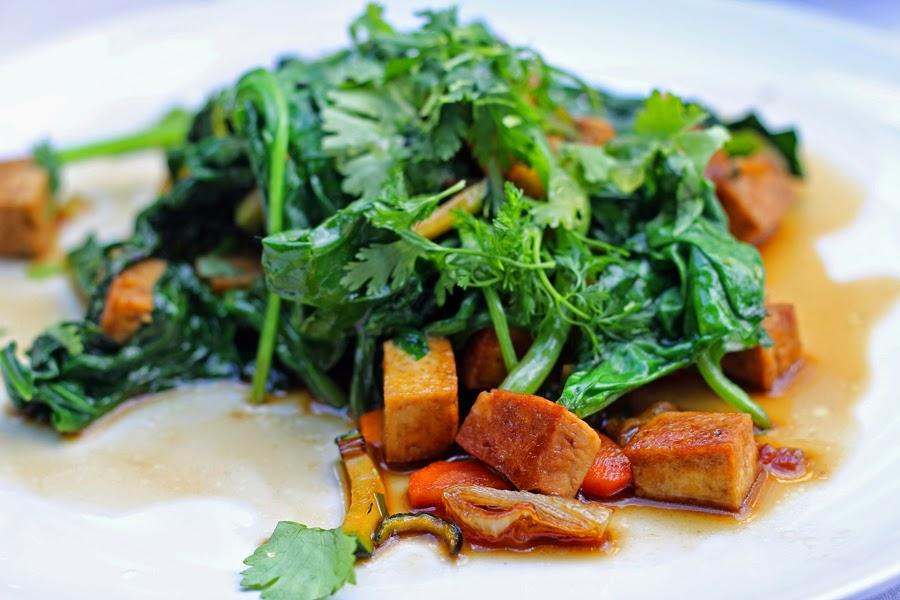 tofu spinat clean eating vegan