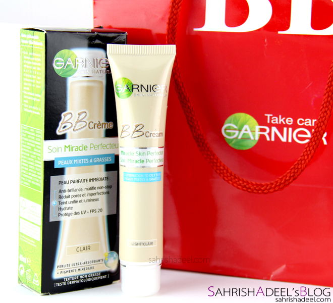 Garnier Skin Naturals Miracle Skin Perfector BB Cream - Review, Swatches and Before & After