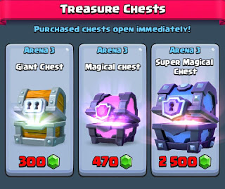 Tutorial Mendapat Super Magical Chest Gratis Clash Royale