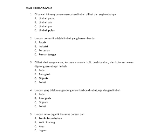 Soal K13 Soal Uts Pts Prakarya Kelas 7 Semester 2 Kurikulum 2013 Tahun 2018 Drivedocx