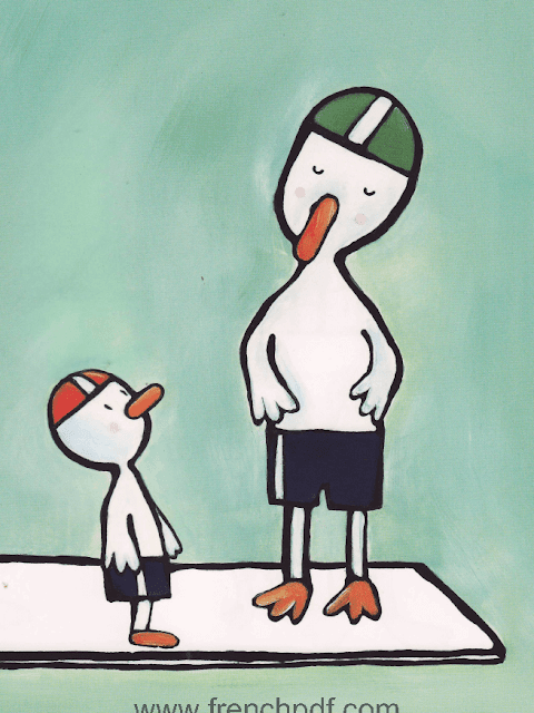 Conte pour enfant: Poule Mouillée par Emile Jadoul