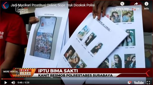 Supir Truk Ditangkap Terbukti Jadi Mucikari Prostitusi Online Bertarif Jutaan Rupiah Sekali Kencan