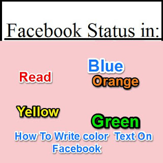 Facebook Me Colorful Status, Comment, Group name Kaise likhte Hai by fb colour text code