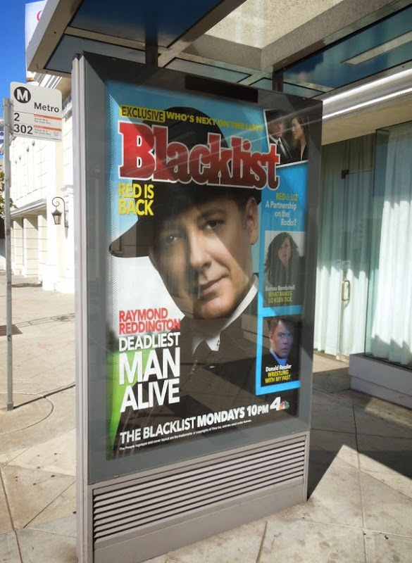 The Blacklist season 2 People magazine homage poster