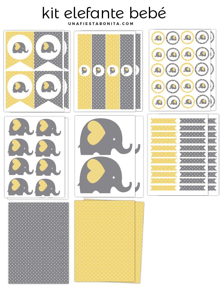 Qué es y para qué sirve un kit imprimible? - El Baúl de Antonia