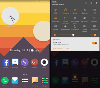 Download Sunsetlike Theme For EMUI 5/8, Huawei Theme, Huaweiemuithemes, Themes for huawei emui, Themes for Honor, Tema untuk Huawei Emui