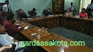 Komisi II DPRD NTB Terima Aktivis IMM  Sorot Soal Kelangkaan Pupuk dan Benih Jagung Busuk