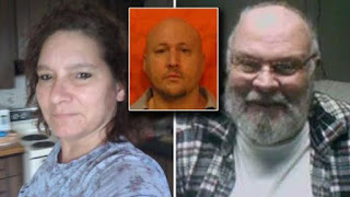 A Man kills prison pen pal and her boyfriend less than a month after release