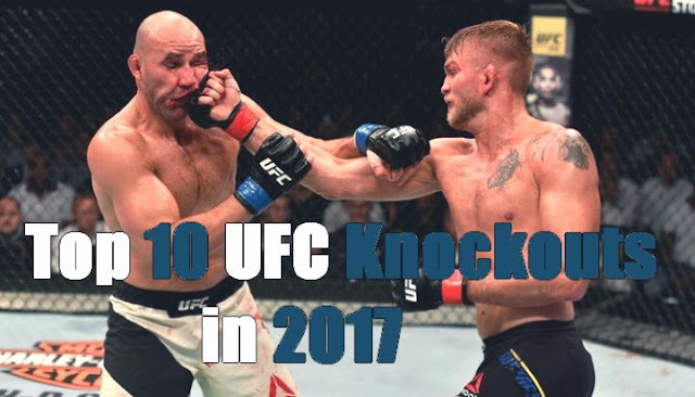 Top 10 UFC Knockouts in 2017