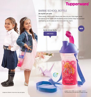Tupperware Barbe School Bottle