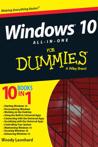 Windows 10 All-in-one For Dummies PDF