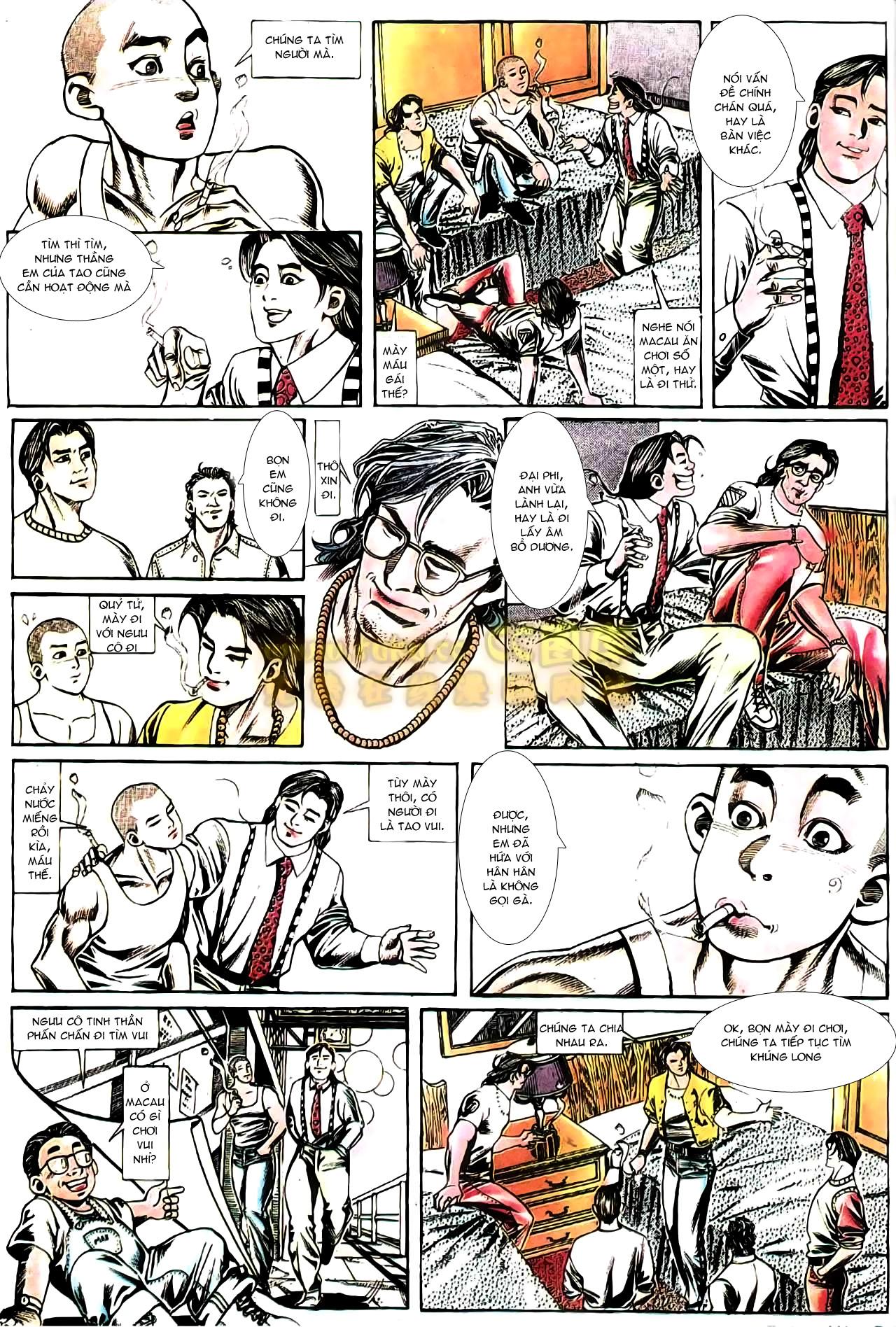 Người Trong Giang Hồ chapter 165: phong thái ngưu cô trang 25