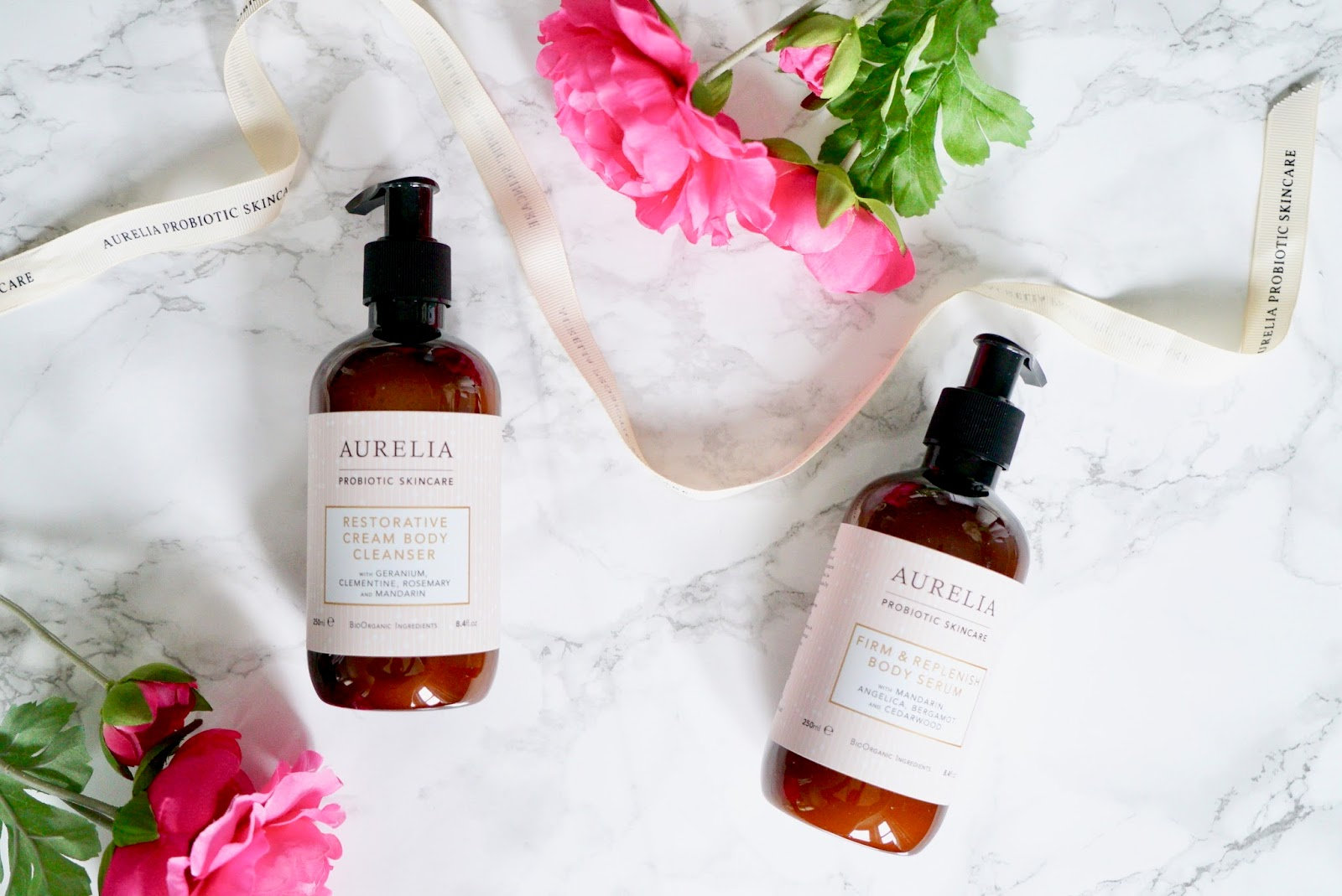 AURELIA BODYCARE BODY CLEANSER AND SERUM
