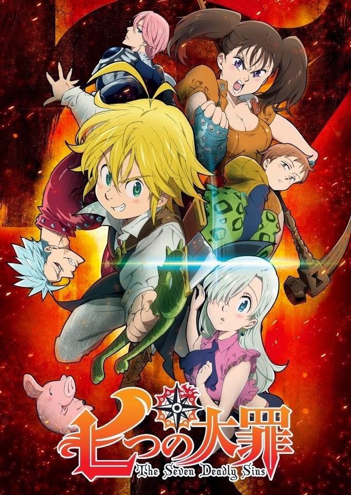 Seven Deadly Sins Streaming Saison 3 : seven, deadly, streaming, saison, Nanatsu, Taizai, Streaming, Mavanime