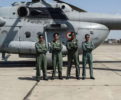 Mi-17 V5 Medium Lift Helicopter India's First all Woman