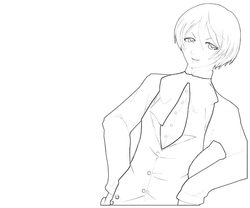 Alois Trancy Full Coloring Page Coloring Pages