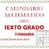 CALENDARIO MATEMÁTICO (Abirl) 6° PRIMARIA
