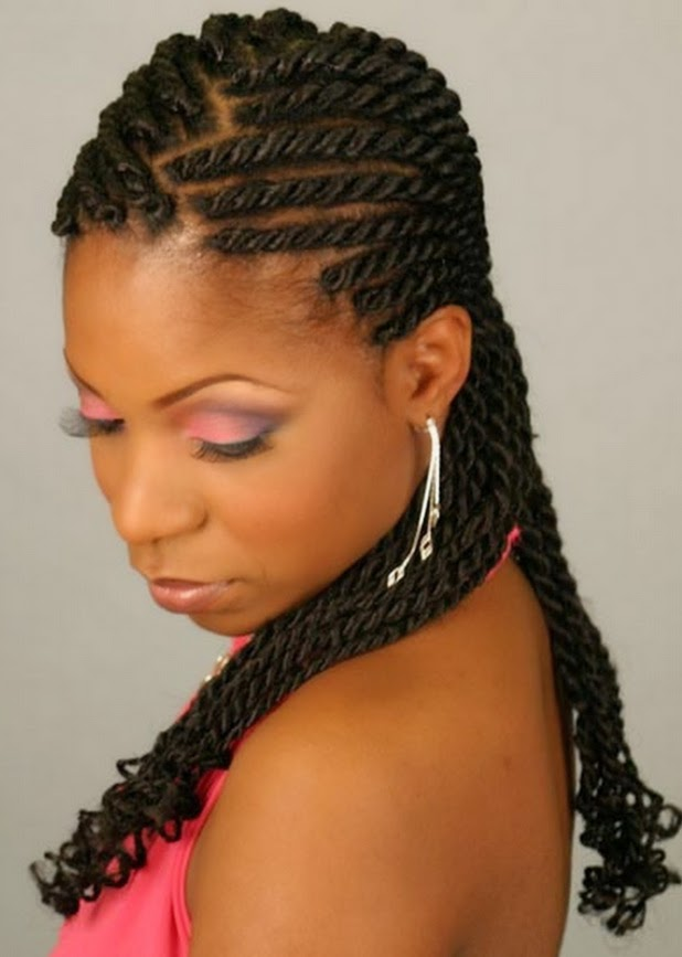 Pleasing Black Braid Hairstyles 2014 Pictures For Short And Long Hair Hairstyles For Men Maxibearus
