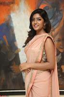 Eesha Rebba in beautiful peach saree at Darshakudu pre release ~  Exclusive Celebrities Galleries 017.JPG