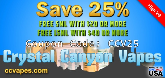 Free Ejuice & 25% Off